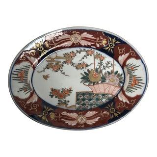 Japanese Imari Oval Platter For Sale