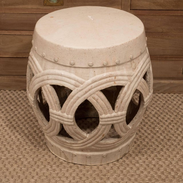 Ceramic A Chinese Ceramic Garden Stool For Sale - Image 7 of 9