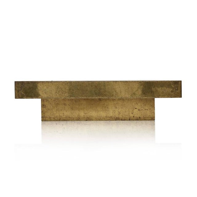 Hollywood Regency Bernhard Rohne Coffee Table for Mastercraft For Sale - Image 3 of 9