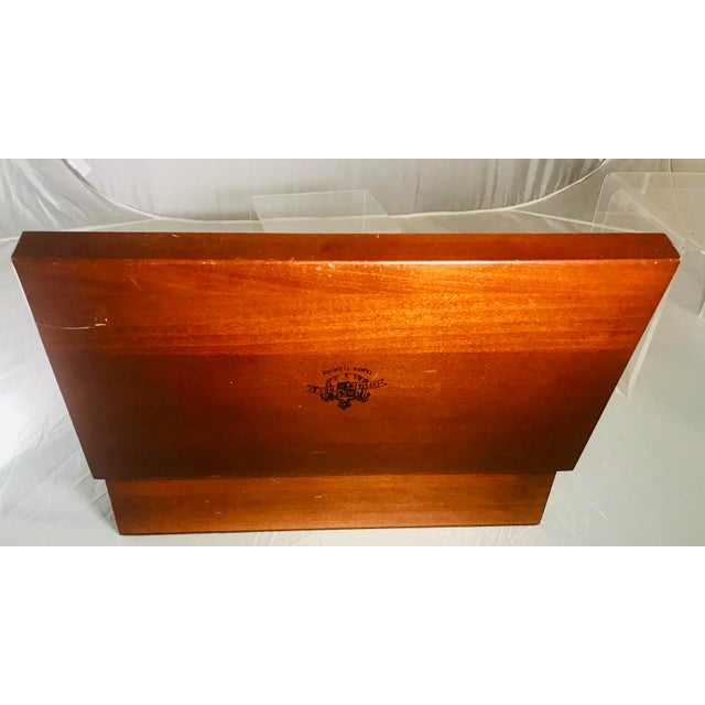 1980s Traditional Cuesta-Rey Cigar Humidor For Sale - Image 9 of 12