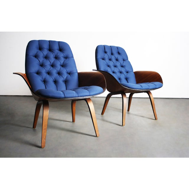 George Mulhauser for Plycraft Lounge Chairs - Pair - Image 10 of 11
