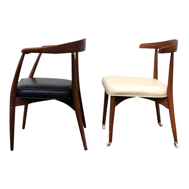 Lawrence Peabody for Richardson Nemschoff Chairs - A Pair For Sale