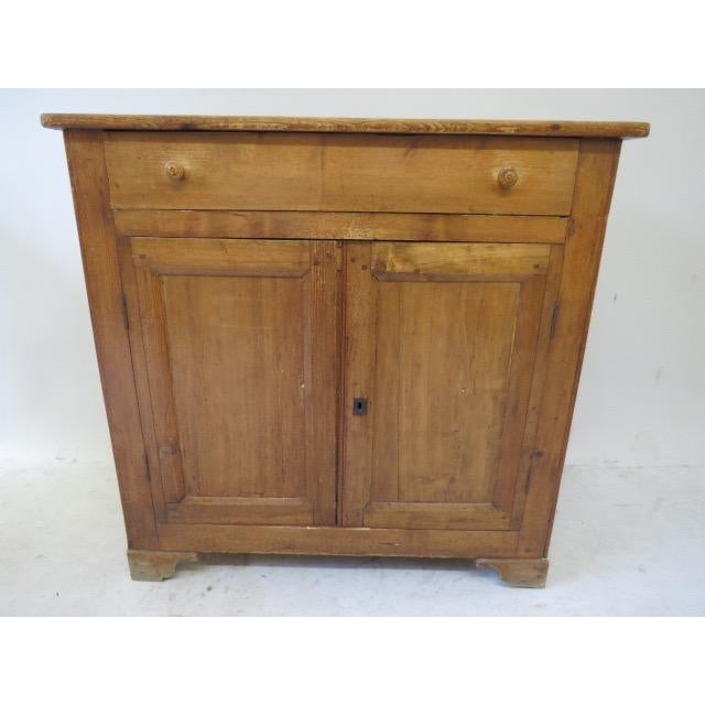 1920s Antique French Rustic Cabinet - Image 2 of 9