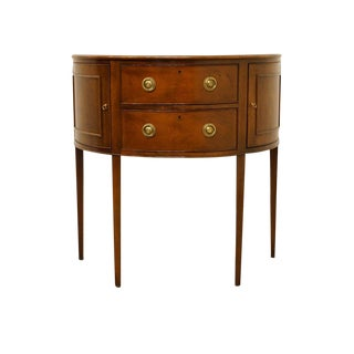 Late 20th Century Vintage Baker Furniture Historic Charleston Collection Entryway Table For Sale