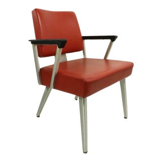 Cool Mid Century GoodForm General Fireproofing Office Desk Arm Chair For Sale