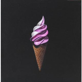 "Erin Rothstein ""Berry Swirl"" Original Painting For Sale"