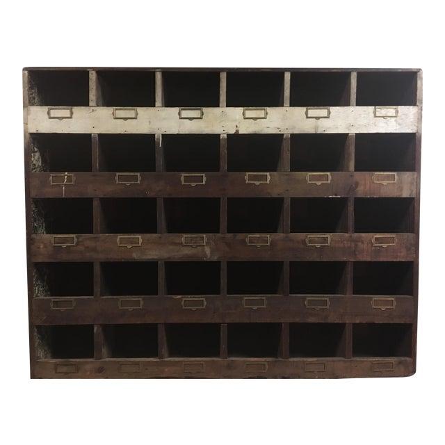 Old Hardware Mail Sorter - Image 1 of 5