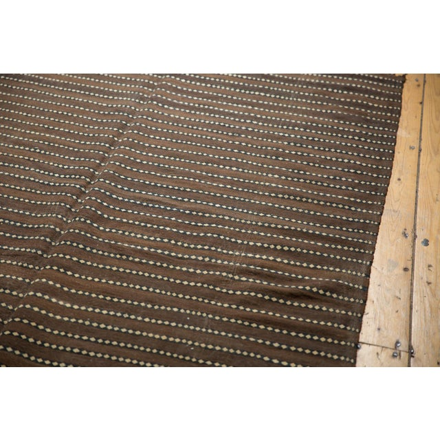 "1970s Vintage Moroccan Kilim Rug Runner - 5' X 11'7"" For Sale - Image 5 of 13"