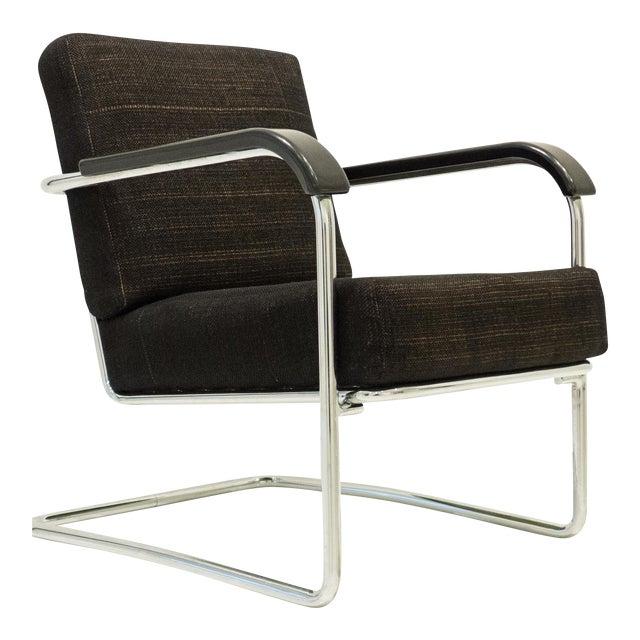 Werner Max Moser Tubular Steel Armchair for Embru Werke - Image 1 of 11