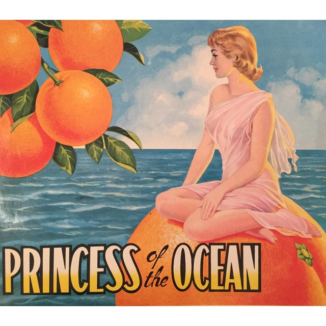 1930s Vintage Spanish Label, Princess - Image 1 of 2