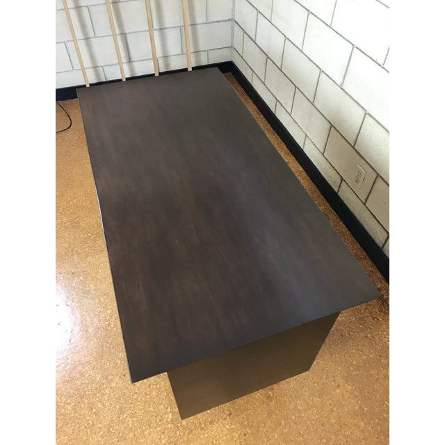 Brown Paul McCobb for Winchendon/Planner Group Refinished Desk For Sale - Image 8 of 10