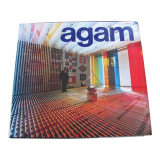 """Agam"" Book by Frank Popper Published by Harry N. Abrams For Sale"