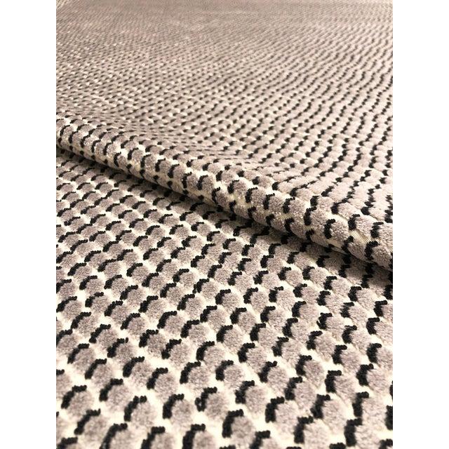 Kravet Kate Spade for Kravet Mazzy Dot - Storm Chenille Upholstery Fabric - 5 Yards For Sale - Image 4 of 5