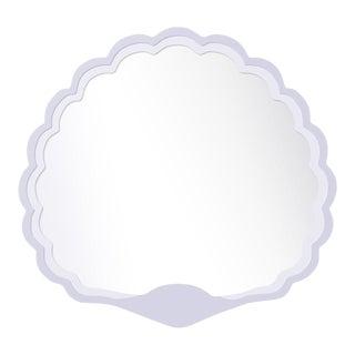 Fleur Home x Chairish Carnival Proteus Mirror in Spring Iris, 36x33 For Sale
