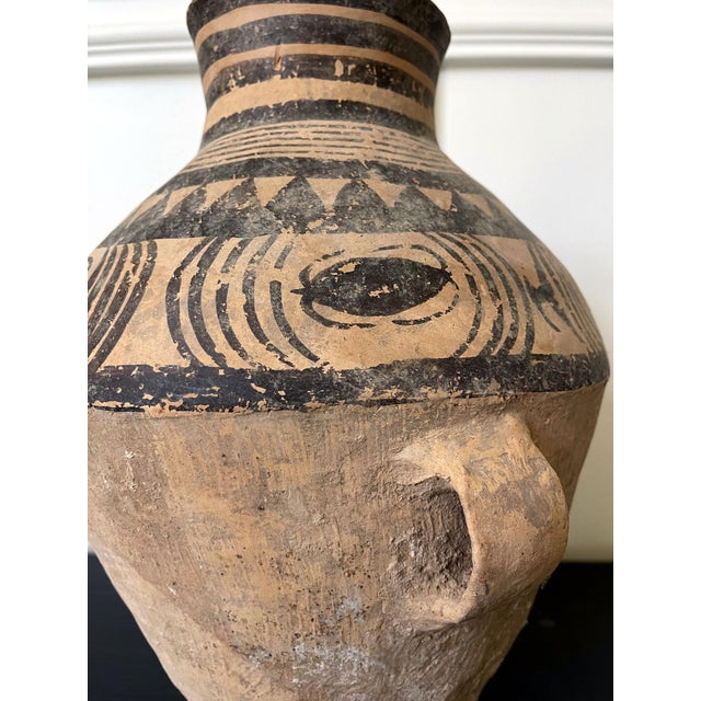 Chinese Neolithic Painted Pottery Jar For Sale - Image 4 of 13
