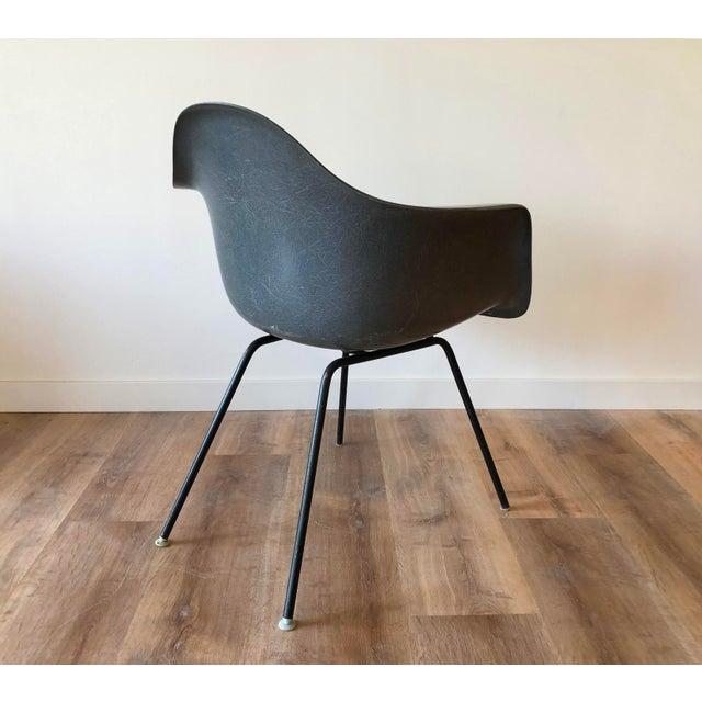 Plastic Eames Fiberglass Molded Side Chair for Herman Miller For Sale - Image 7 of 13
