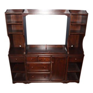 Pottery Barn Madison Media Center Console Cabinet