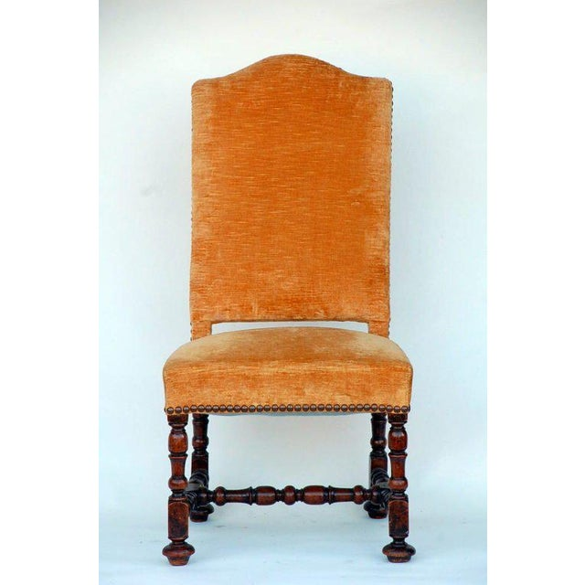 15th Century & Earlier Large Turned Wood Baroque Style Chair For Sale - Image 5 of 5