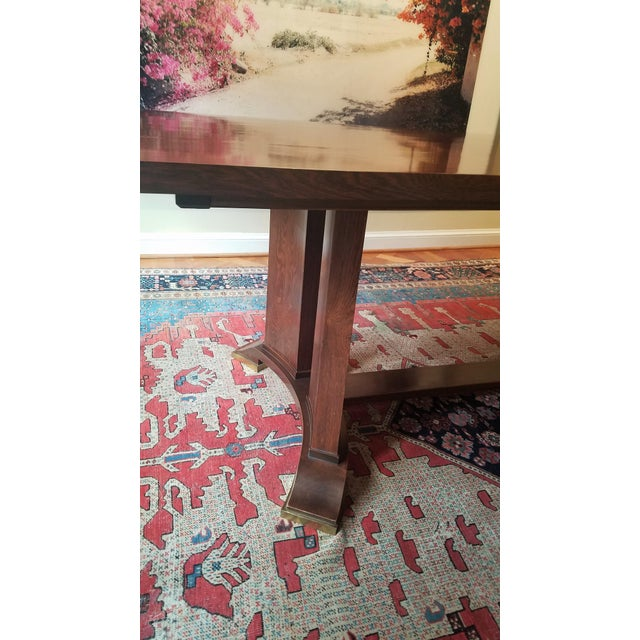 Jules Leleu Neoclassical Dining Table & 4 Chairs - Image 7 of 11