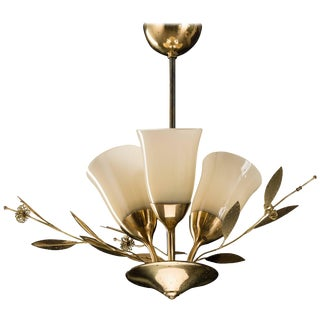 Chandelier in Paavo Tynell Style by Itsu For Sale