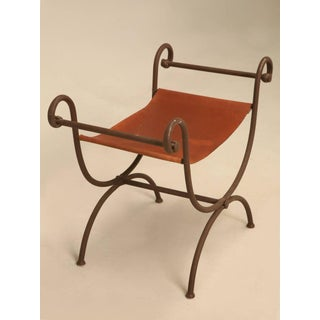 Hand-Forged Iron Vanity Bench Preview