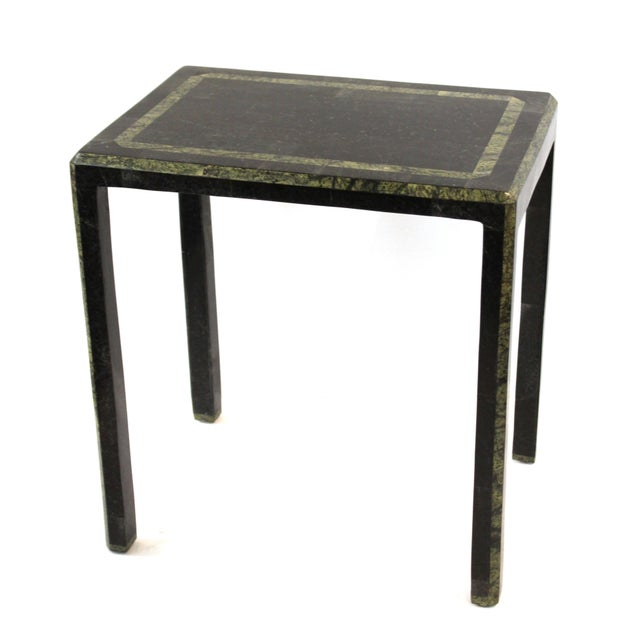 Maitland-Smith Modern Nesting Tables in Tessellated Stone - Set of 3 For Sale - Image 10 of 13