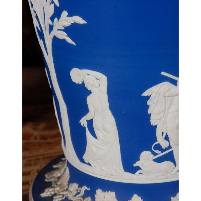 English 19th Century English Wedgwood Stamped Jardinieres - a Pair For Sale - Image 3 of 7