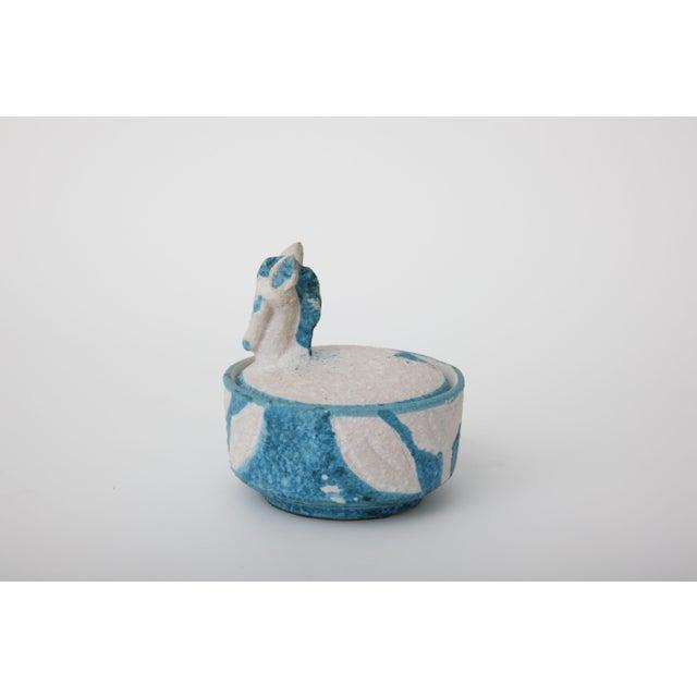 Italian Lidded Horse Bowl - Image 2 of 5