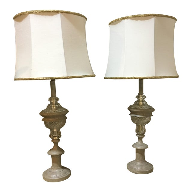 Westwood Industries Regency Table Lamps - a Pair For Sale