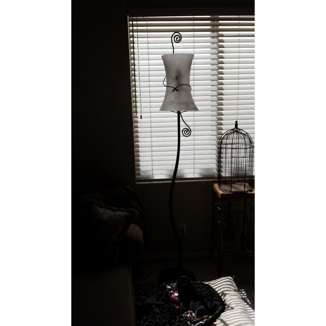 Murano Italy Signed Lipprarni Floor Lamp - Image 6 of 7
