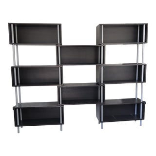1990s Modern Blu Dot Chicago 8 -Box Shelving Unit For Sale