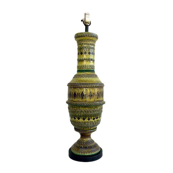Bitossi Italian Pottery Table Lamp - Image 1 of 5