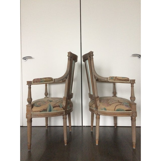 These elegant chairs are hand carved in Italy from seasoned European beech. They have a classic 'limed oak' finish and are...