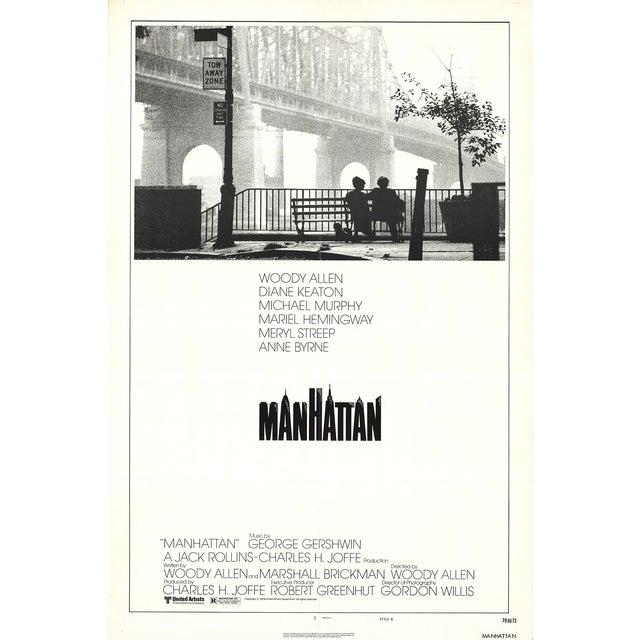 Original 1979 Manhattan Movie Poster - Image 1 of 2