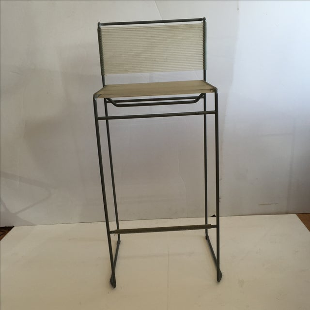 Giandomenico Belotti 1980's Spaghetti Bar Stool - Image 3 of 6