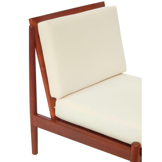 Mid-Century Danish Modern Slipper Chairs - a Pair For Sale - Image 10 of 13