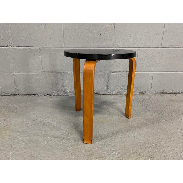 Alvar Aalto Birch Stool for Artek For Sale In Boston - Image 6 of 11