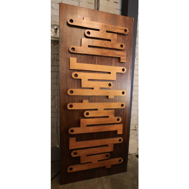 1960s 1960s Brazilian Jacaranda Decorative Panel or Door For Sale - Image 5 of 8