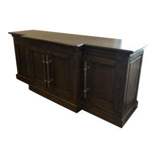 "Traditional Restoration Hardware 80"" Media Console For Sale"