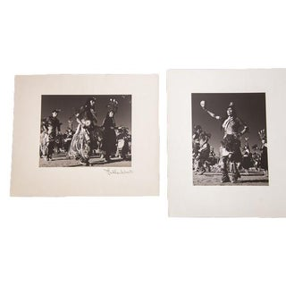 Native American Dance Ceremony Photos - A Pair For Sale