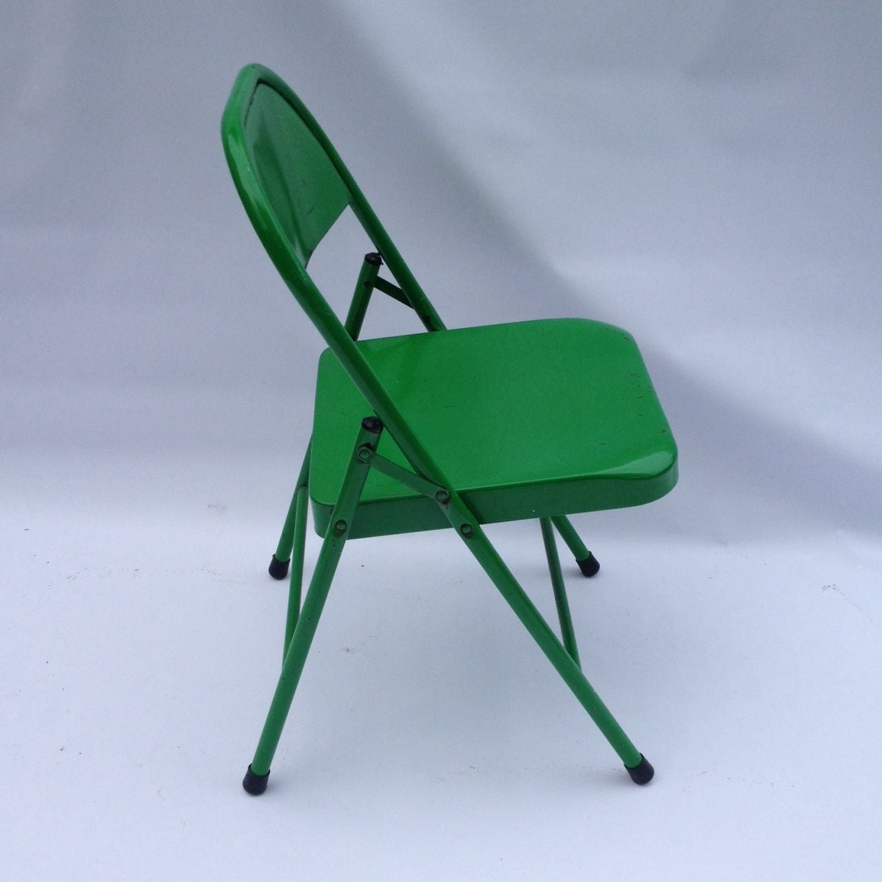 Mid Century Kelly Green Chair   Image 2 Of 5
