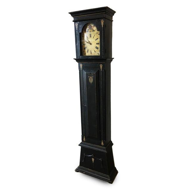 19th Century Danish Empire Long Case Clock For Sale - Image 11 of 11