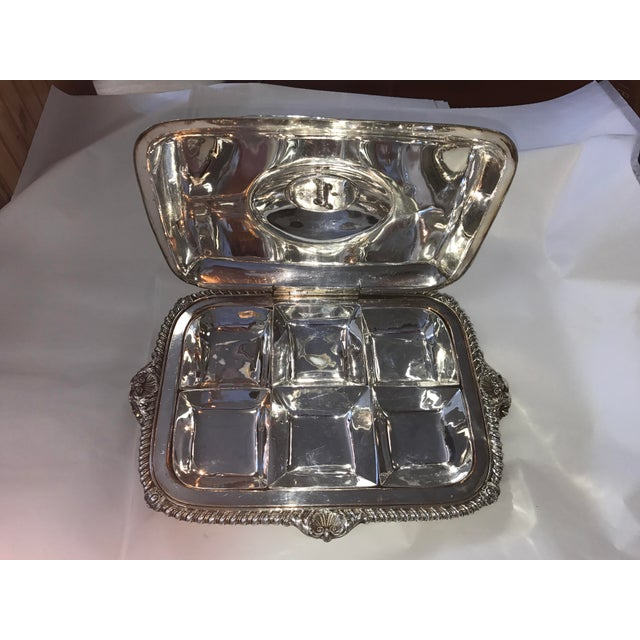 George III Sheffield Silver Plate Cheese Warmer - Image 5 of 8