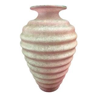 Mid Century Art Glass Vase