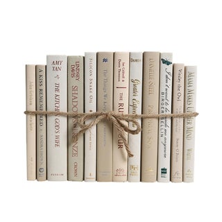 Modern Beach ColorPak - Decorative Books in Neutral Shades For Sale