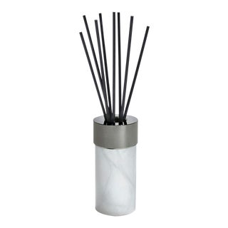 La Cire Diffuser, Alabaster & Gunmetal For Sale