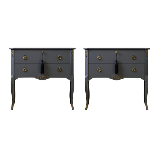 Gustavian Louis XV Style Chests - a Pair For Sale - Image 9 of 9