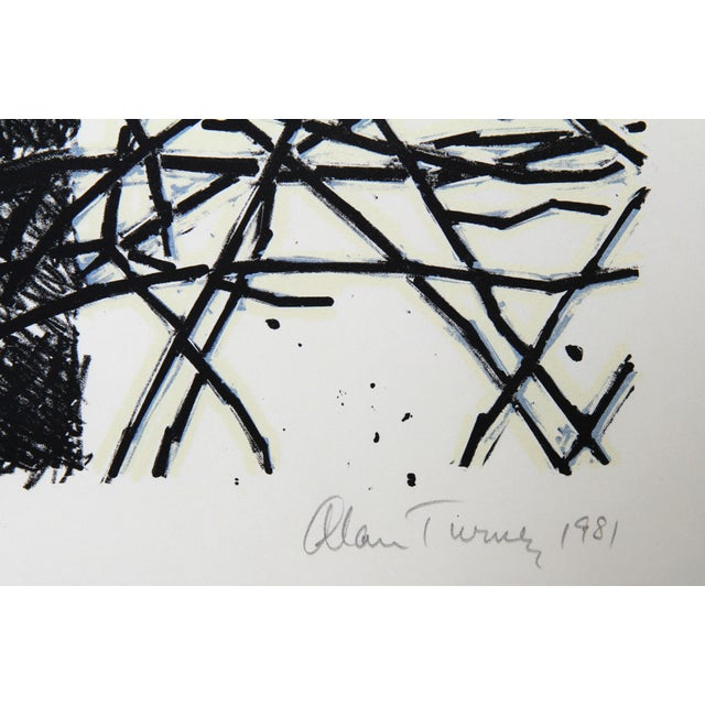 Alan Turner, Pine Cut Down, A, Lithograph - Image 2 of 2