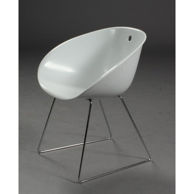 2010s Modern Claudio Dondoli & Marco Pocci Gliss 920 Chairs- Set of 4 For Sale - Image 5 of 6