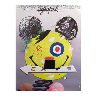 1982 French Grapus Exhibition Poster, Adolf Mouse, Au Musée De l'Affiche - Paris